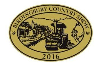 Metal badge for Birdingbury Country Show 2016
