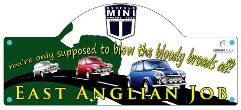 East Anglian Job badge for Norfolk Mini Owners Club