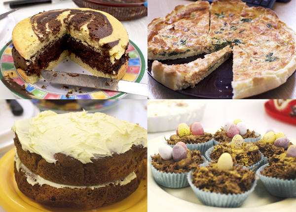 Southern United Bake for Shelter Cakes Montage Image